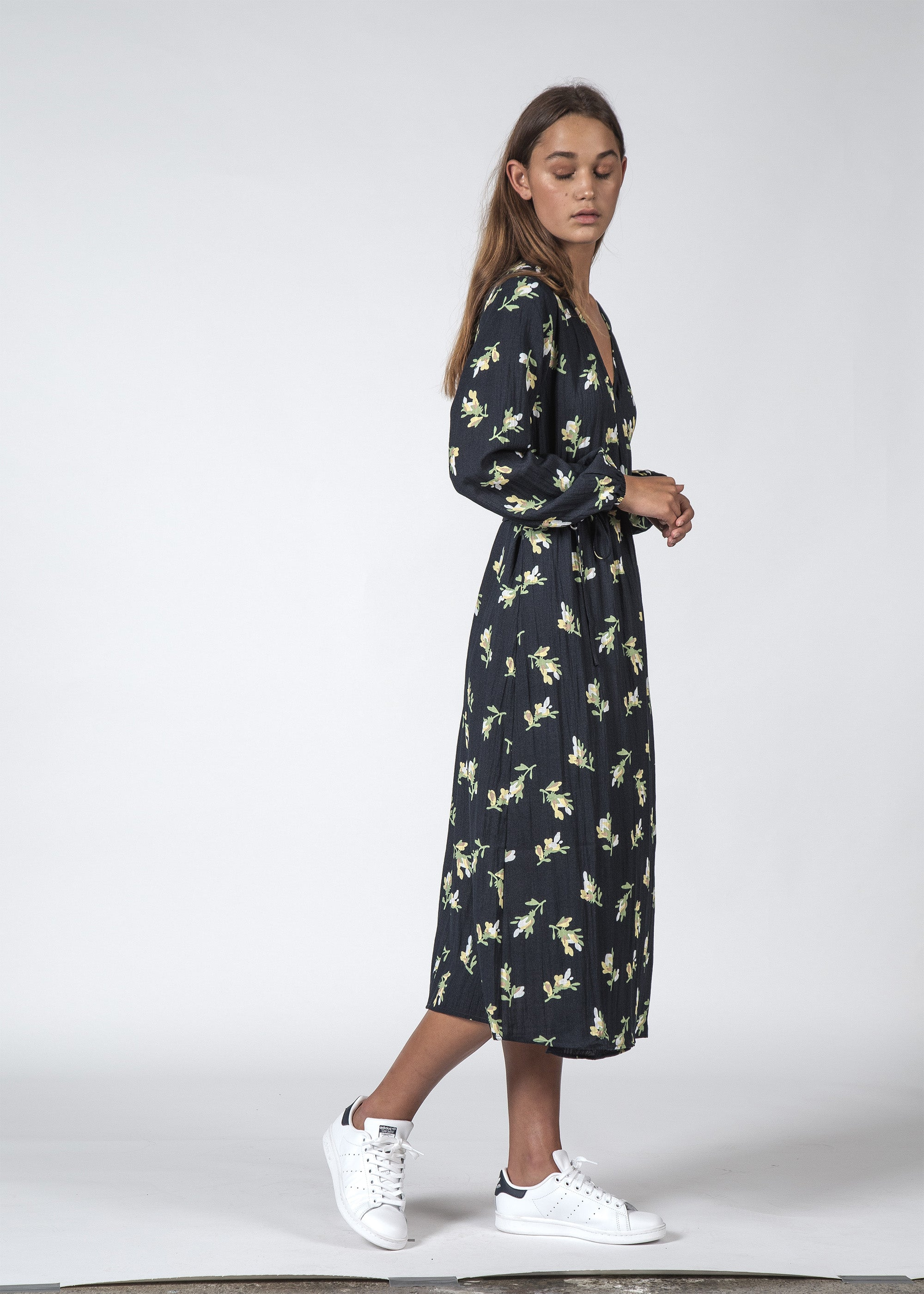 THE MILLIE DRESS JASMIN FLORAL
