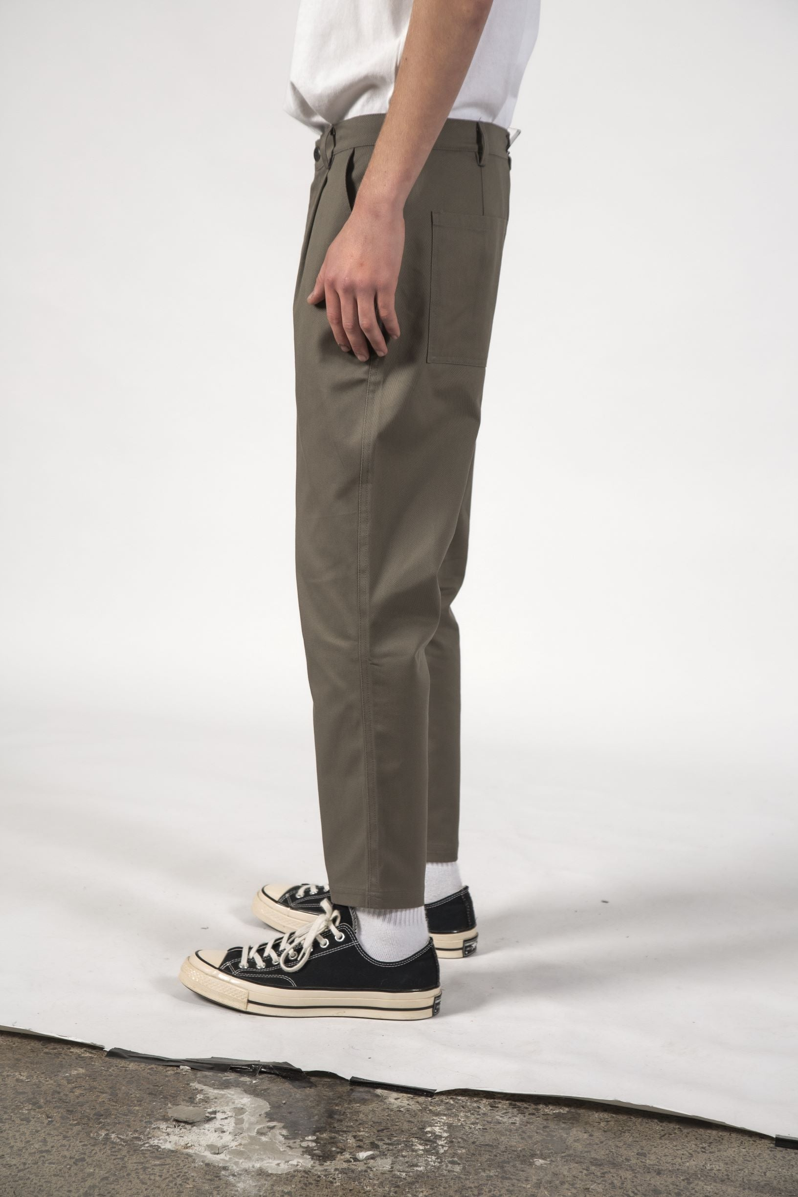 DOCK PANT - Clay
