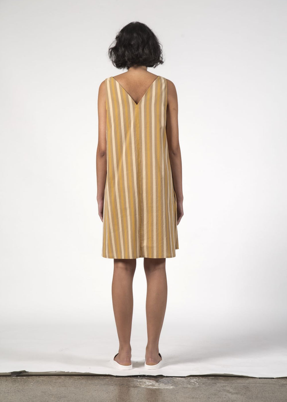 ESTELLE DRESS - Beach Stripe