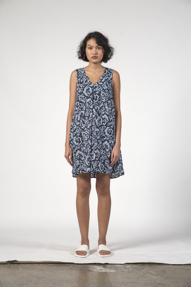 ESTELLE DRESS - Jagged Flower