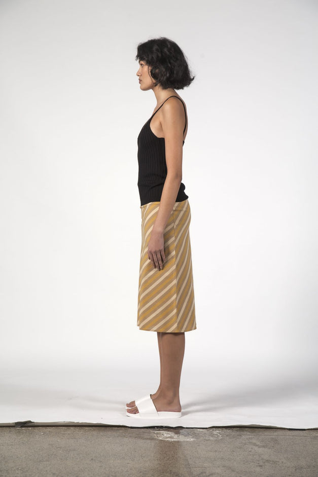 LOU LOU SKIRT - Beach Stripe