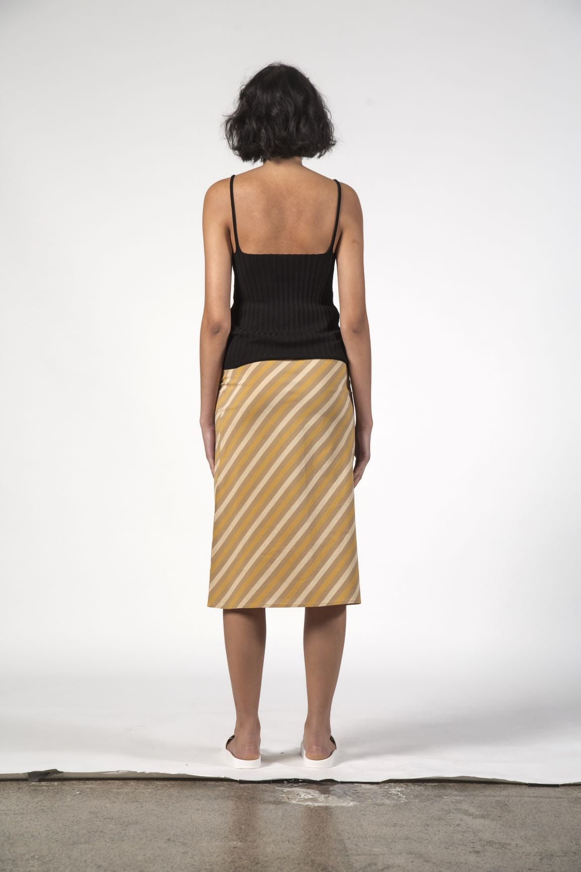 SALE - LOU LOU SKIRT - Beach Stripe