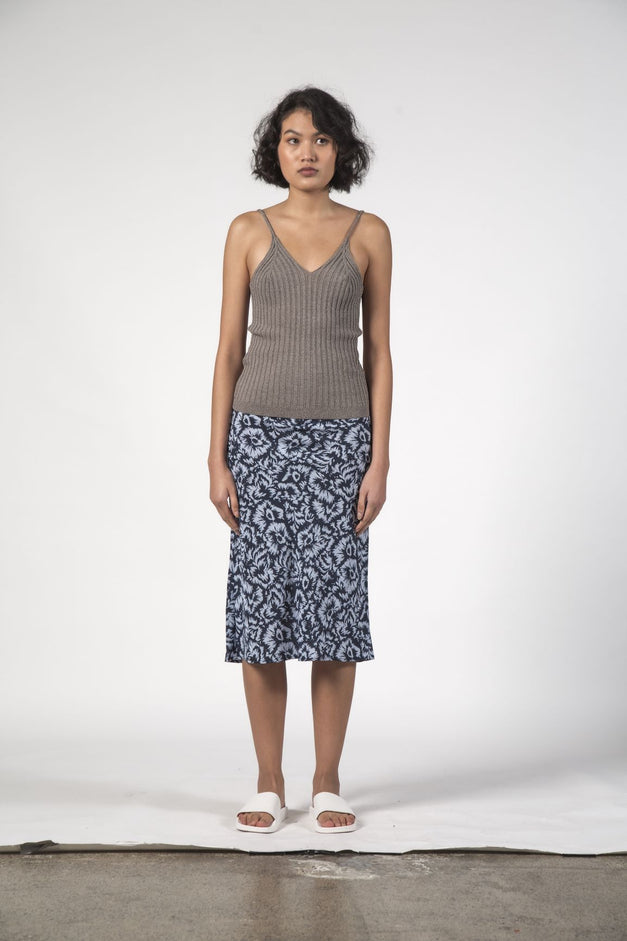 LOU LOU SKIRT - Jagged Flower