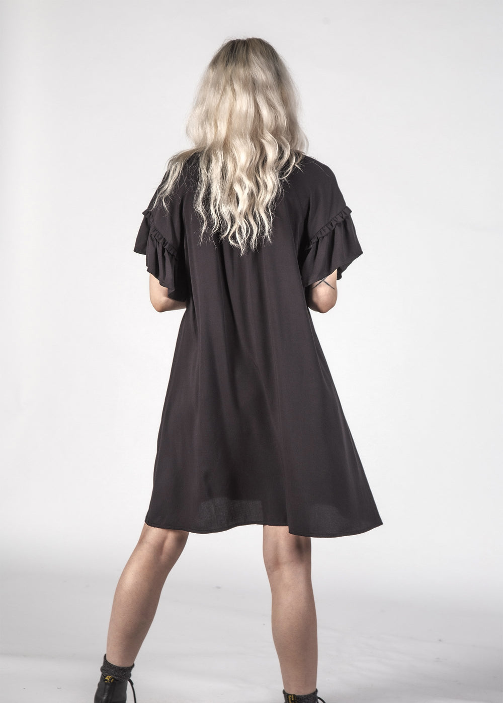 EVIE DRESS - BLACK