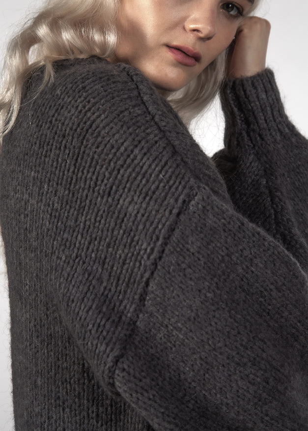 CLEA JUMPER - COAL