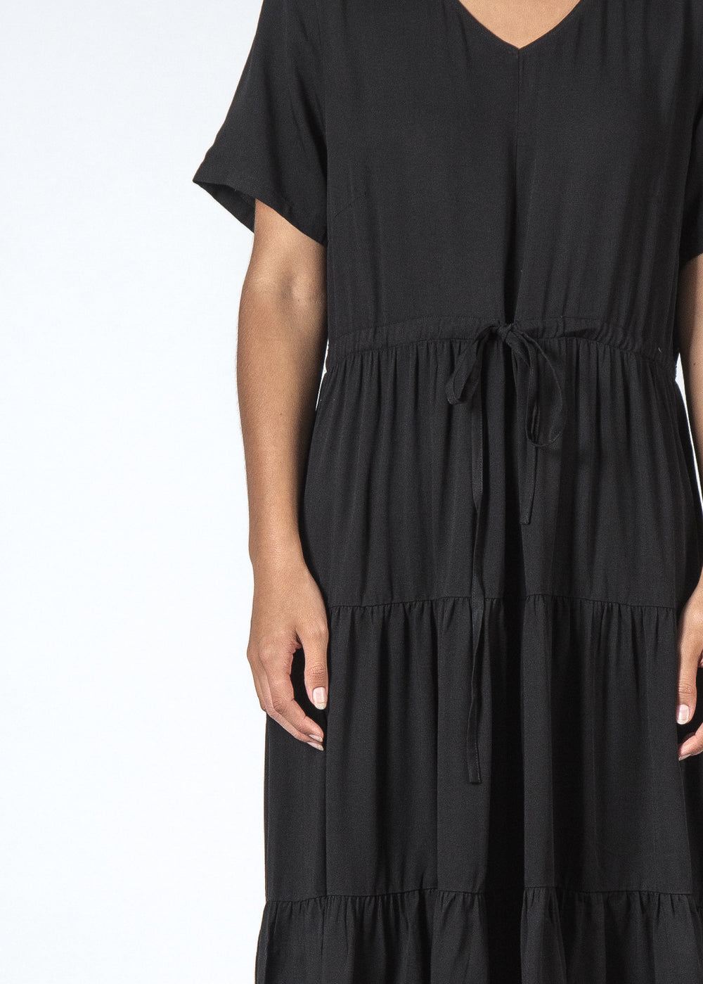 THE GARDEN DRESS BLACK