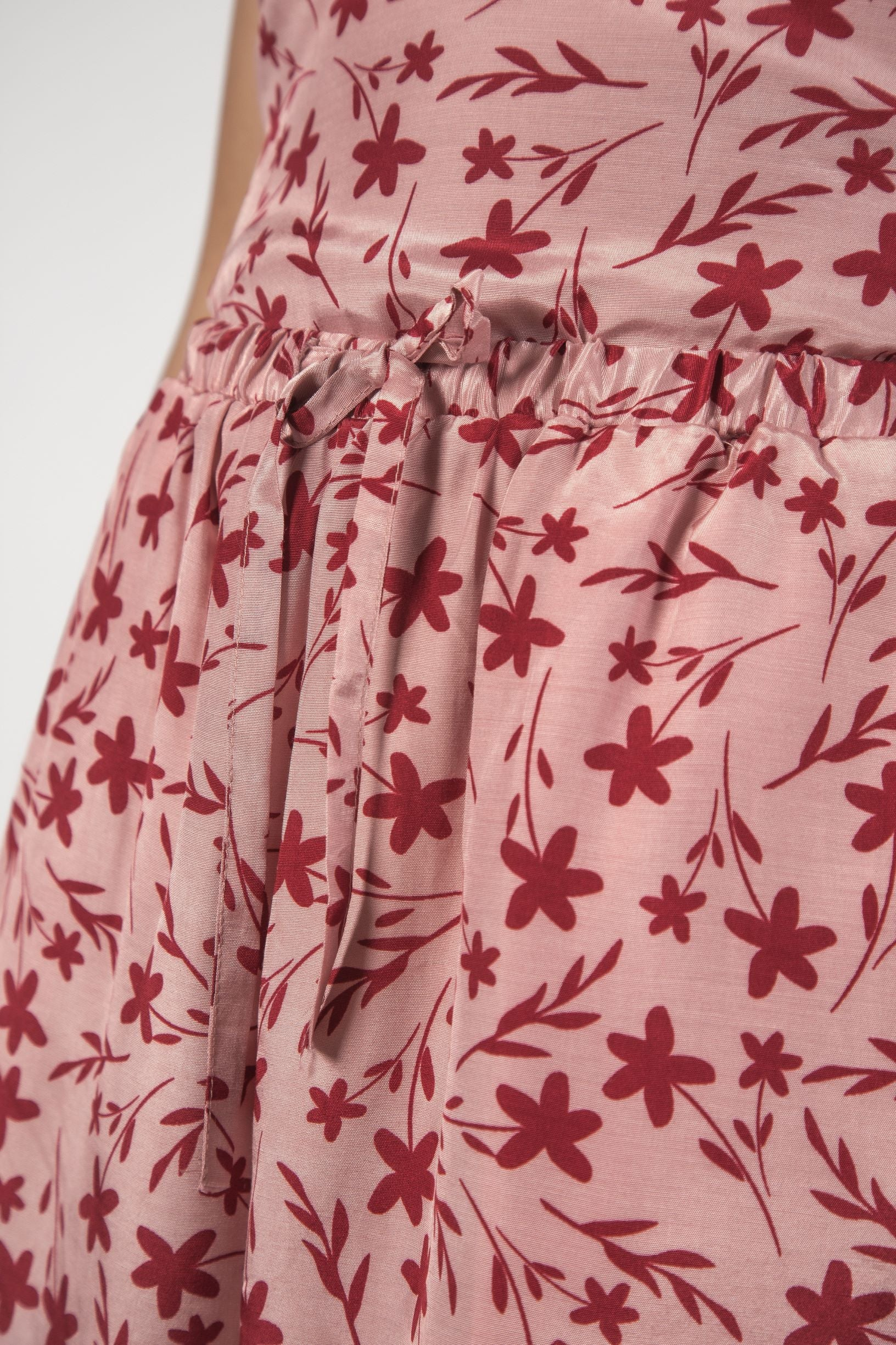MAE SHORTS - Floral Pink