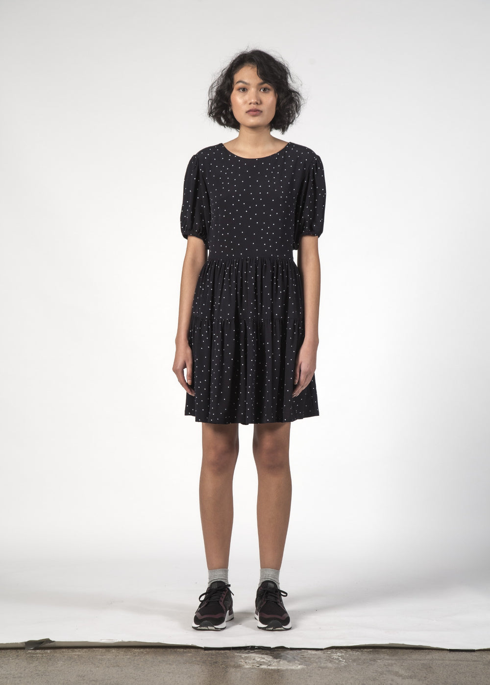 SALE - POPPY DRESS - Black Dot