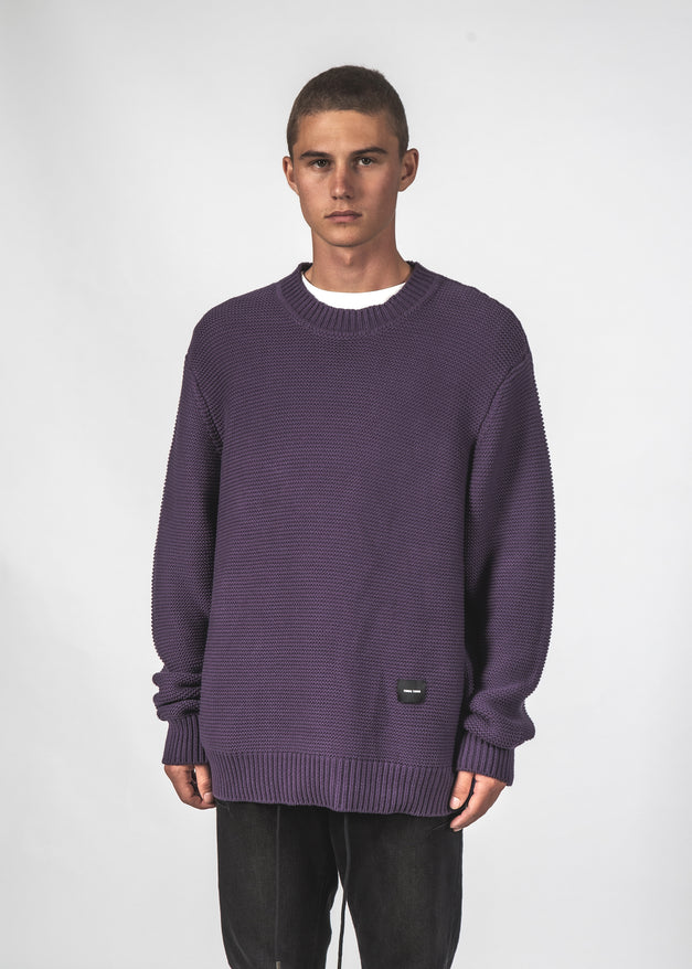 ATTIC SWEATER - PLUM