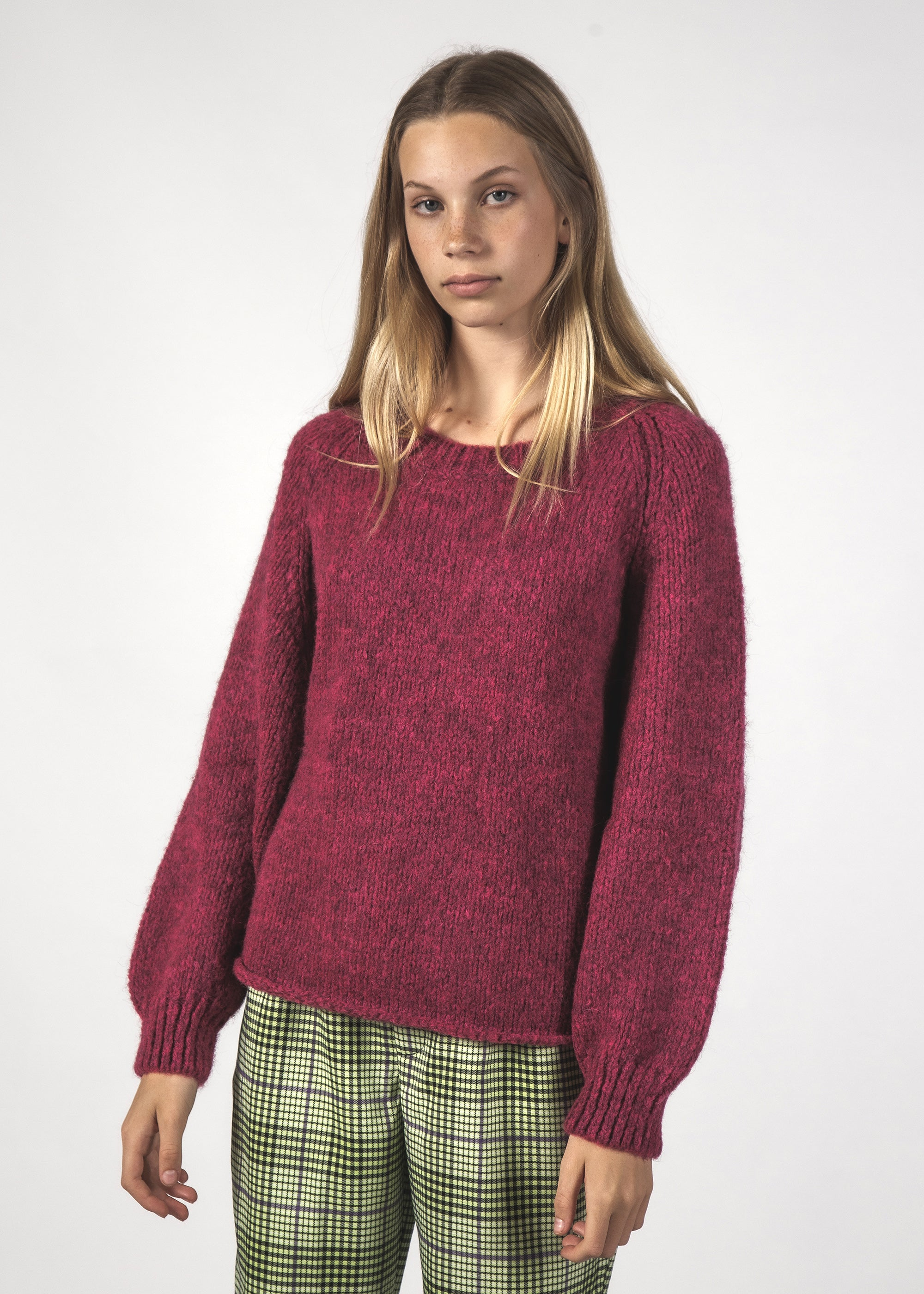 MILO JUMPER - BERRY
