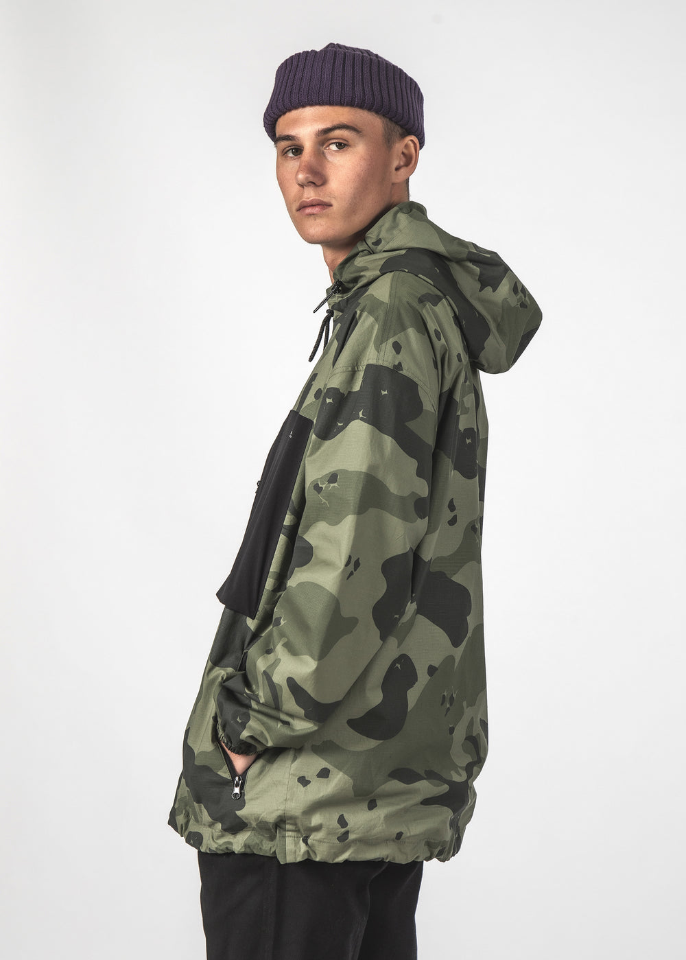 MARK JACKET - GREEN CAMO