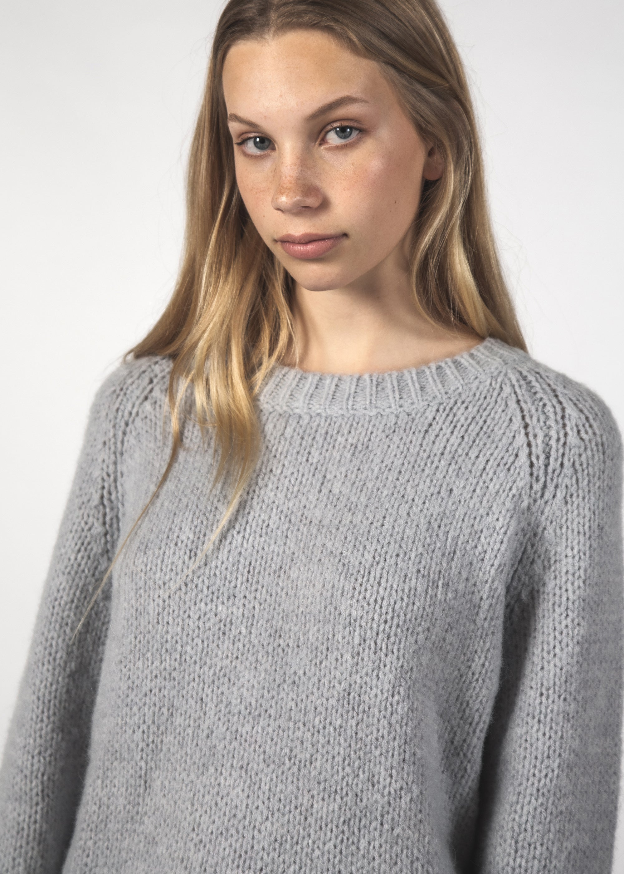 MILO JUMPER - SOFT GREY