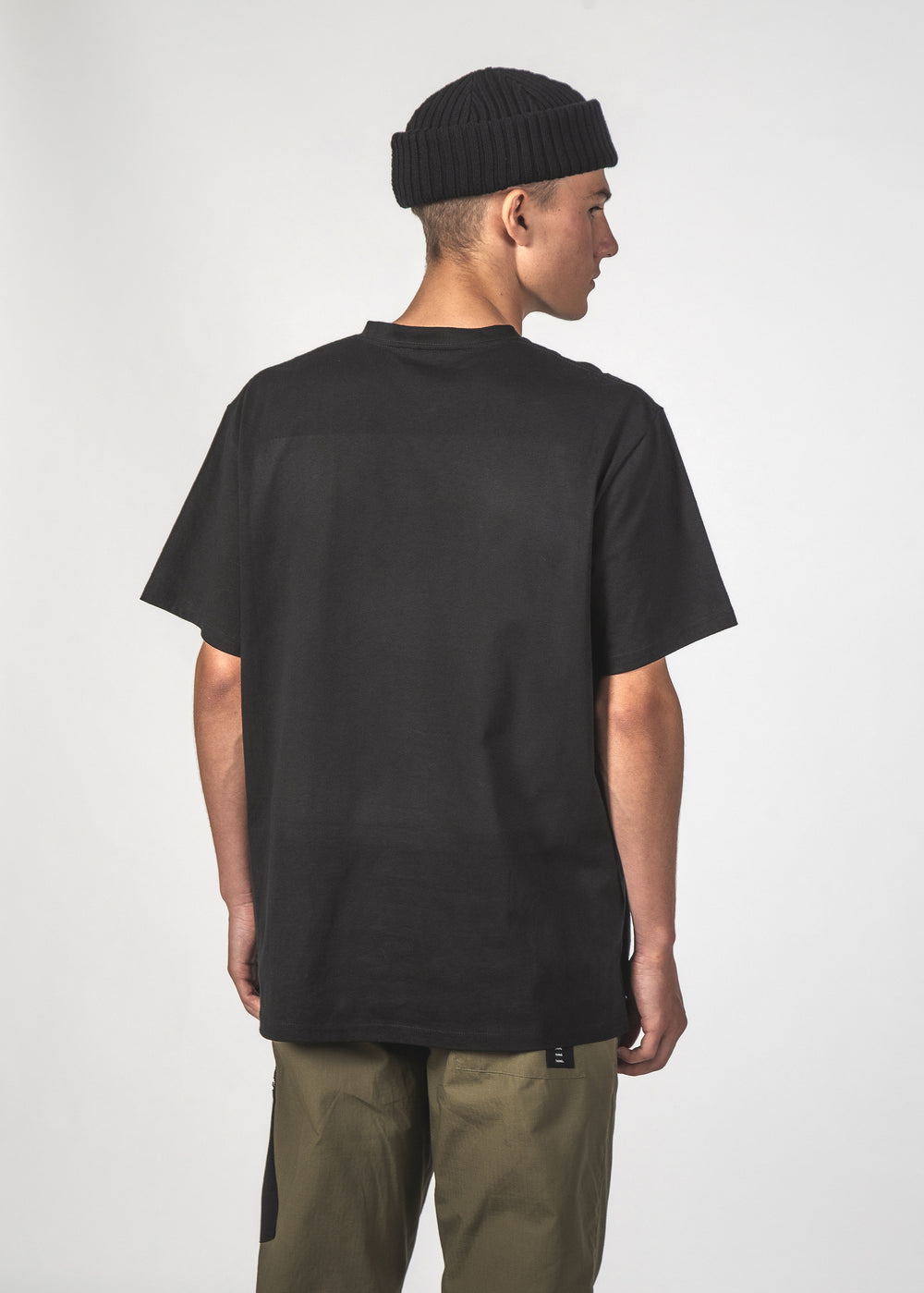 SS TEE - BLACK STANCE