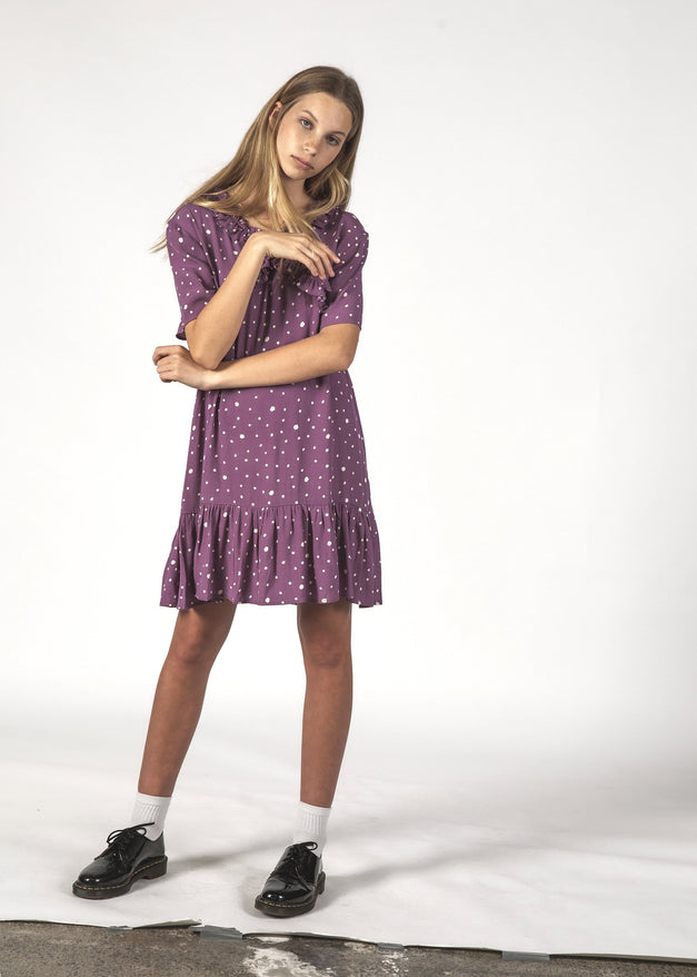 SALE - JOYFUL DRESS - Lilac Blotch