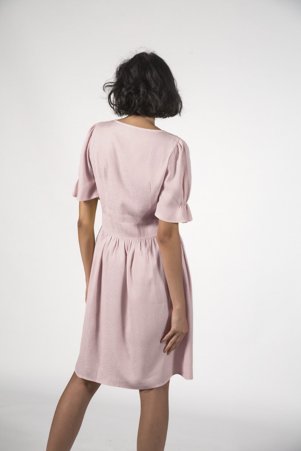 ROSIE DRESS - Dusky Pink