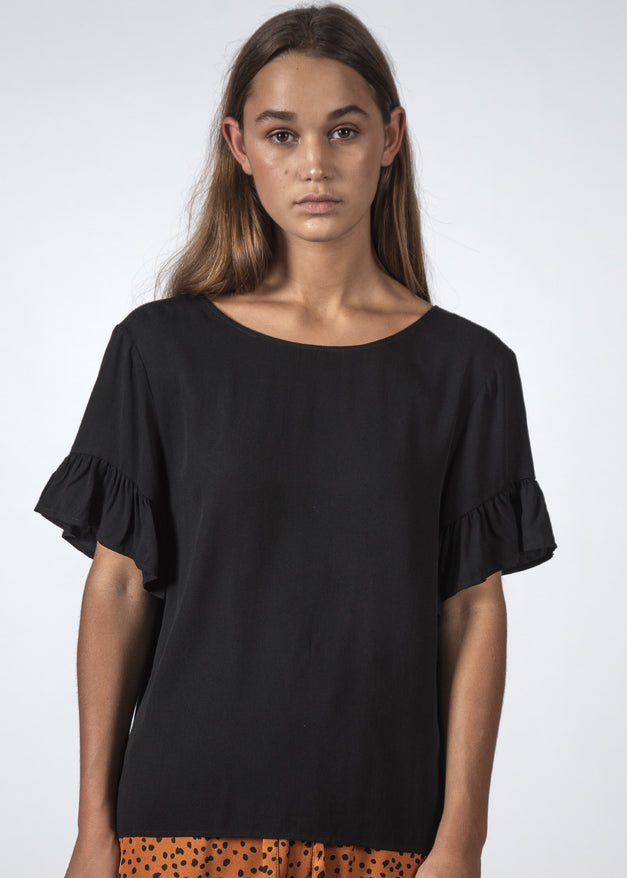 THE DILLY TOP BLACK