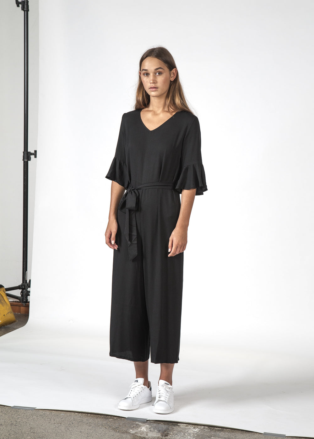 THE FREYA JUMPSUIT BLACK