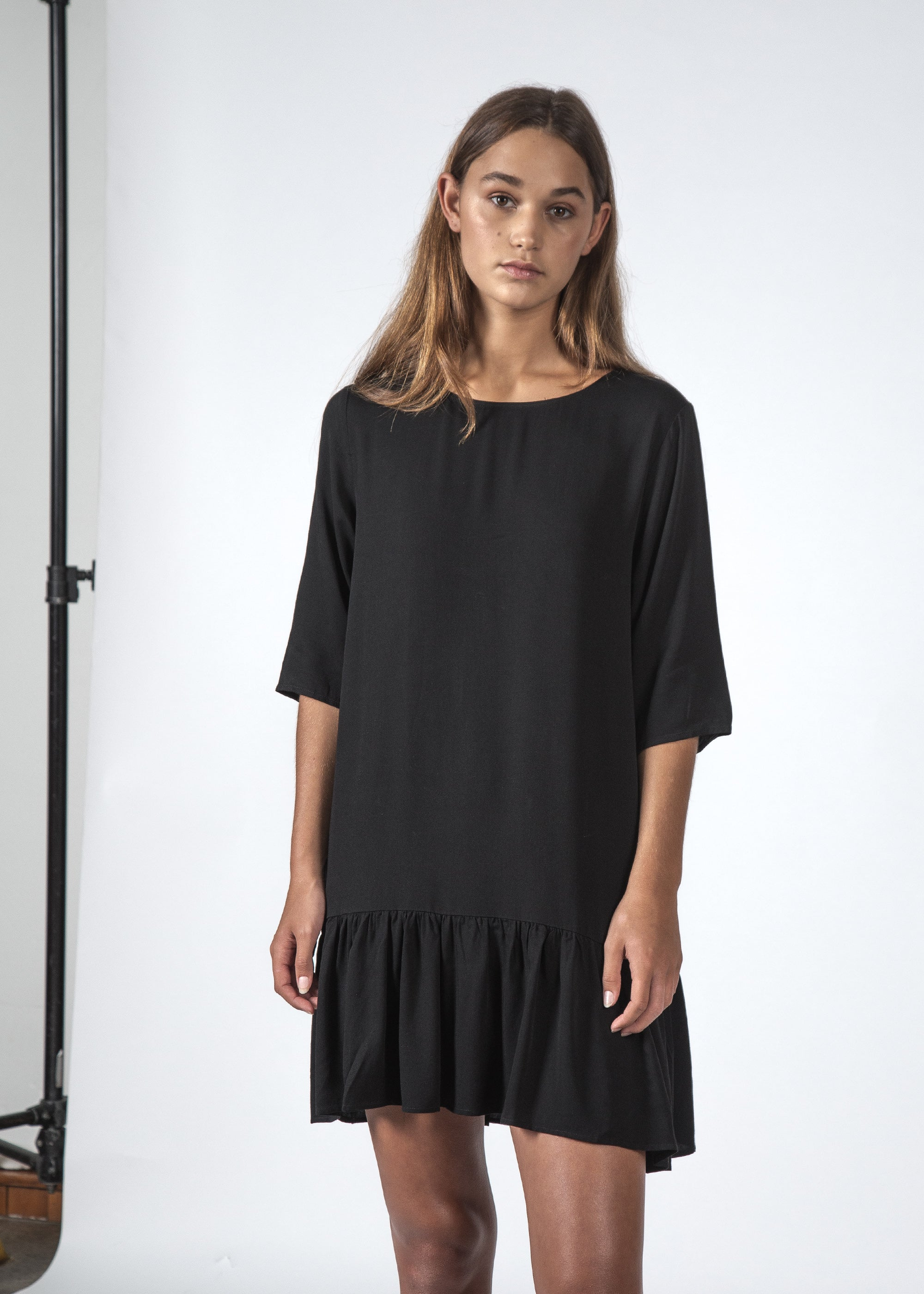 THE PHOEBE DRESS BLACK