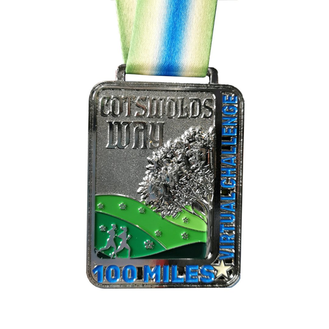 popular virtual running race medals