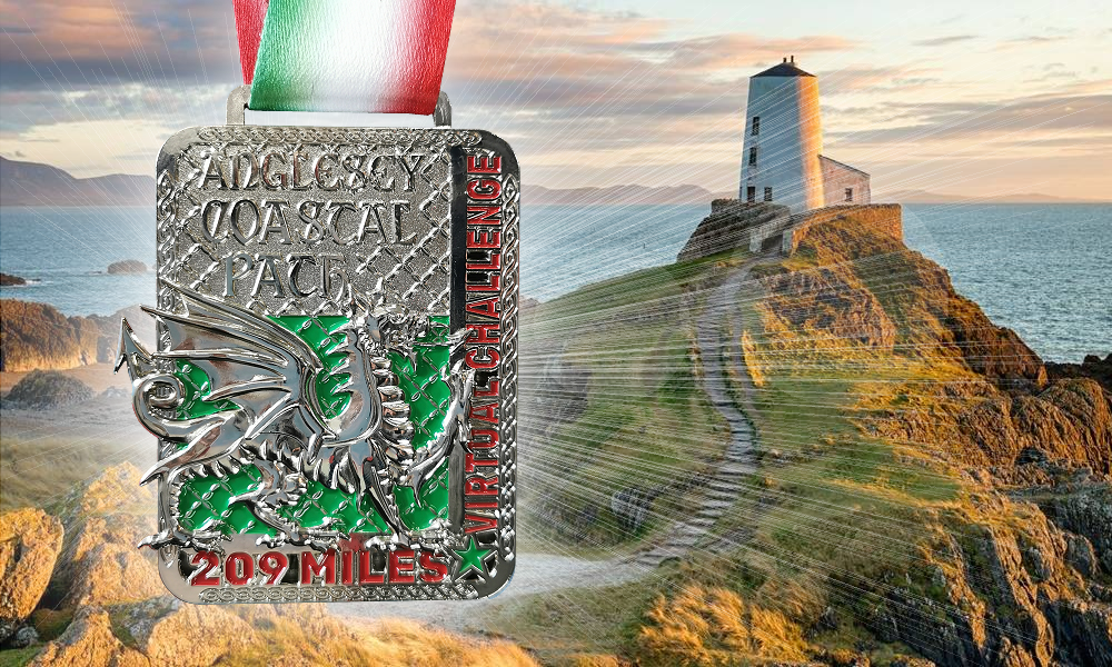 Anglesey Coastal Path Medal
