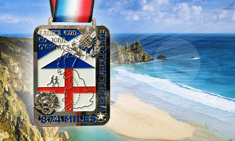 Lands End to John O'Groats Medal