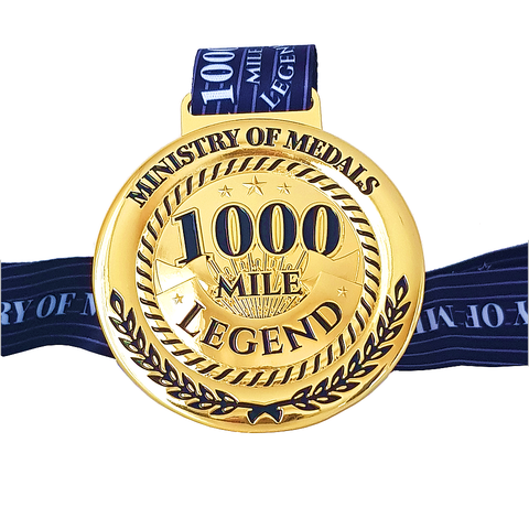 1000 Mile Legend Virtual Challenge 2020