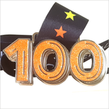 virtual running medal run 100 miles orange gitter
