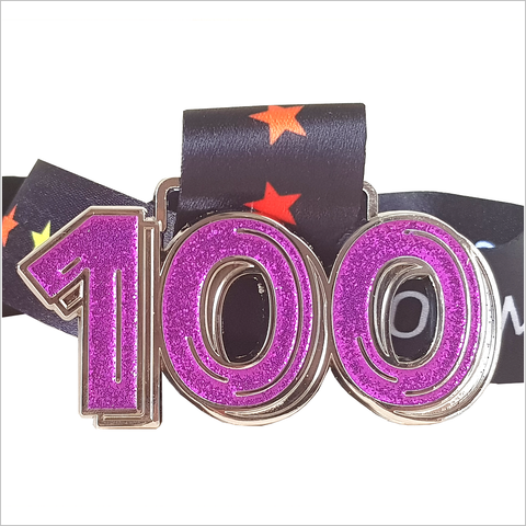 Run 100 Virtual Challenge July 2019 - 100 Miles/Kms