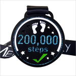 july step count challenge medal 200k steps