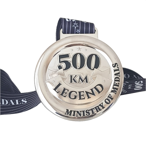 500KM Legend Virtual Challenge 2021