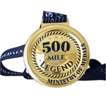 500 Mile Legend Virtual Challenge 2021