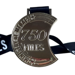 750 miles silver medal 2020 virtual race