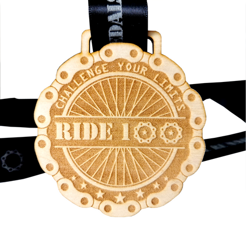 Ride 100 - Cycling Virtual Challenge