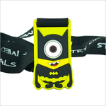 batman minion superhero virtual race silicone medal