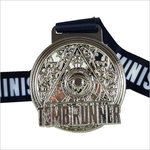 tomb runner silver virtual running medal