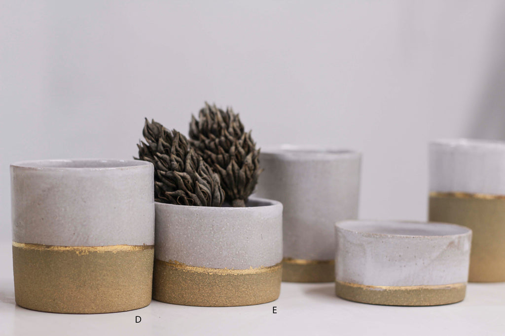 sophisticated stoneware tumblers