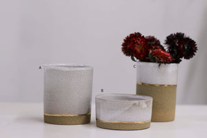 sophisticated stoneware tumblers (seconds)