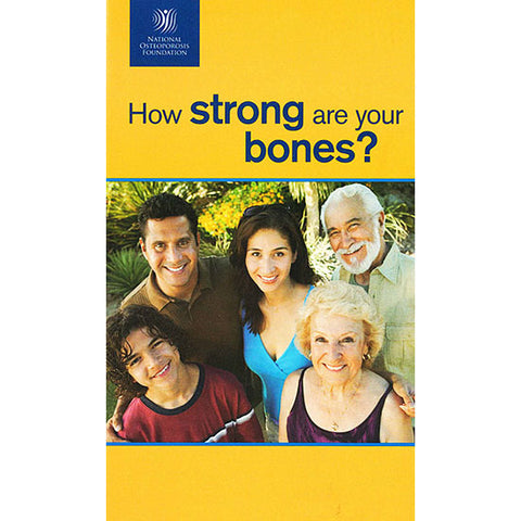 NOF How Strong Are Your Bones – 50 Pack