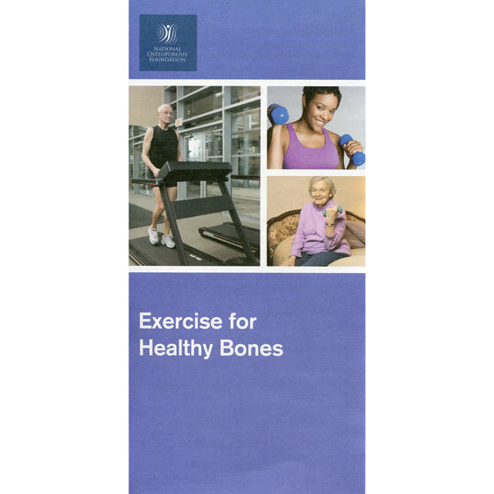 Exercise and Healthy Bones - 50 Pack