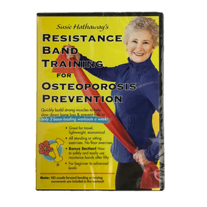 Resistance Band Training for Osteoporosis Prevention DVD