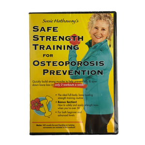 Safe Strength Training for Osteoporosis Prevention – DVD