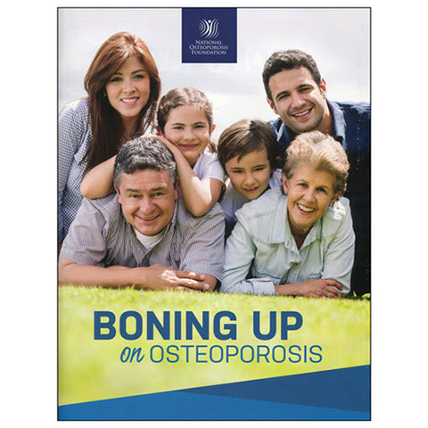 National Osteoporosis Foundation Boning Up Book