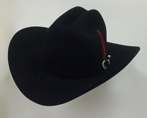 David's 30X Black fur felt cowboy hat