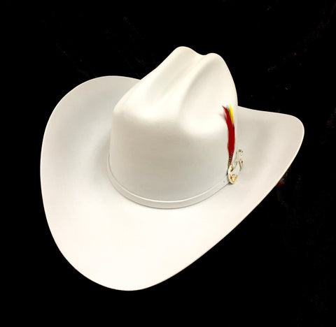 David's 30X White fur felt cowboy hat
