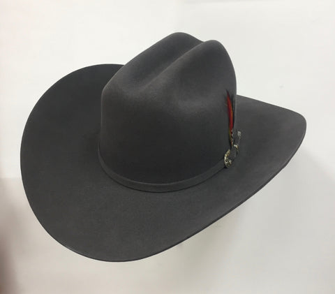 David's 5X Granite fur felt cowboy hat
