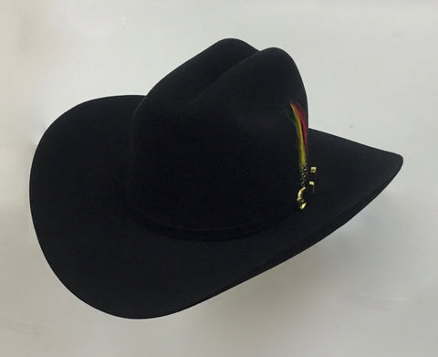 David's 6X black fur felt hat