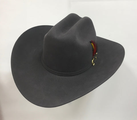 David's 6X Granite fur felt cowboy hat