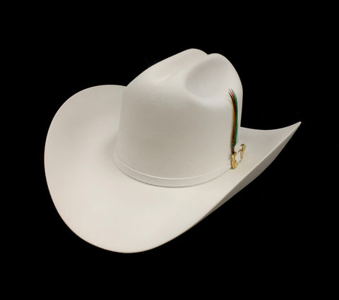 David's 6X White fur felt cowboy hat