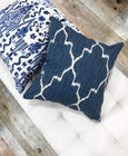 Stylish navy pillows - PORTER - Studio Pillows