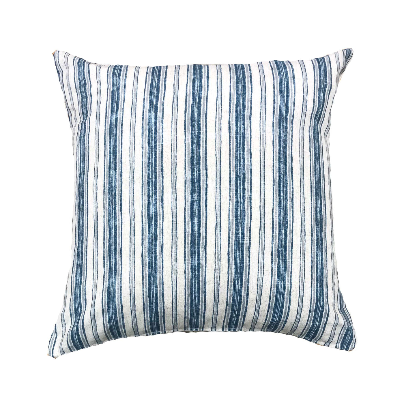Classic blue stripe pillows - CLARK - Studio Pillows